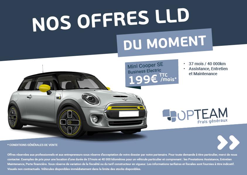 LLD – Mini electrique 199€/mois
